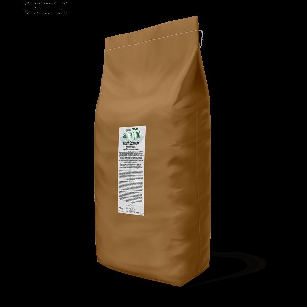 I semi di canapa organici triturate, 12kg