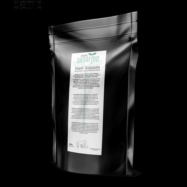 Hemp leaf calcium, organic, 400g