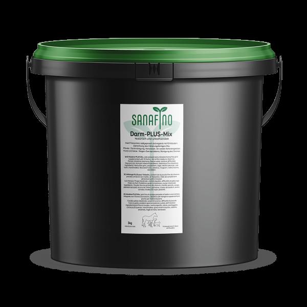 Intestin PLUS, le poudre semifine de chanvre et d'herbes, 3kg
