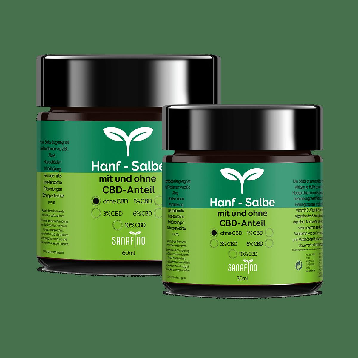 Sanafino Hemp Ointments Nature