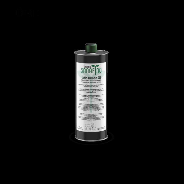 ORGANIC Leinöl kaltgepresst, 250 ml