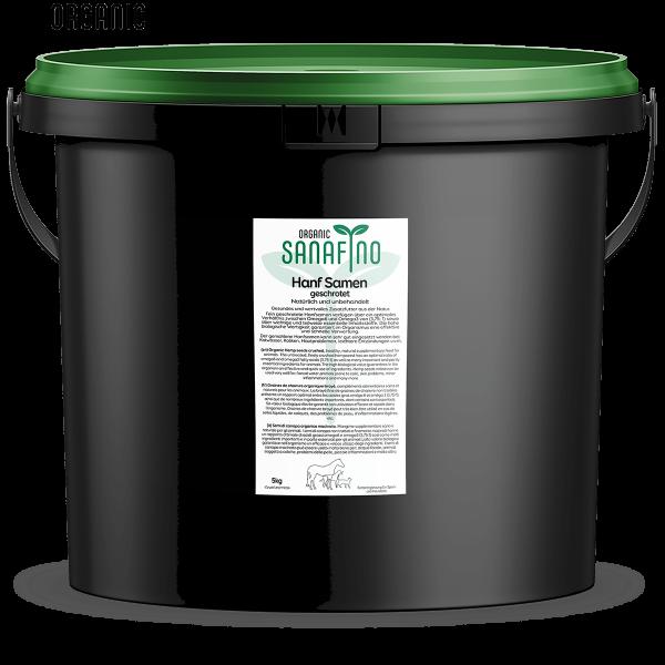 Les graines de chanvre déchiqueté organique, 5kg