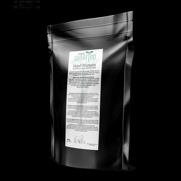 Hemp protein, ORGANIC, 400g